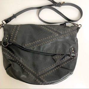 Chinese Laundry Black Hip Messenger Cross Body L